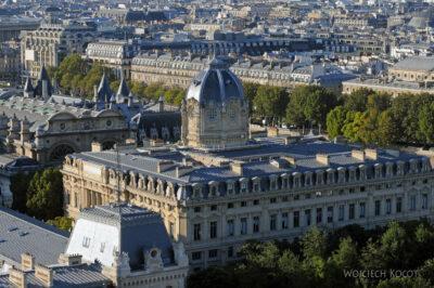Por23294-Paryż - Notre-Dame - widoki zwieży