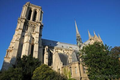 Por23300-Paryż - Notre-Dame - strona S