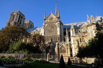 Por23307-Paryż - Notre-Dame - strona S