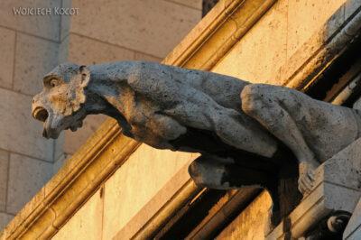 Por23320-Paryż - Basilique Du Sacré-Coeur - rzygacze