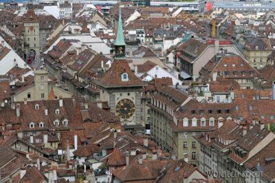 Gen06076-Bern-Katedra - widok zwieży Wieżę Zegarową