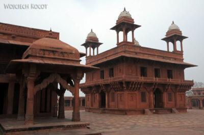 IN03084-Fatehpur Sikri - Salle Du Trésor iDiwan-I Khas