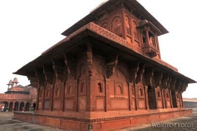 IN03137-Fatehpur Sikri - budowle postronie NW