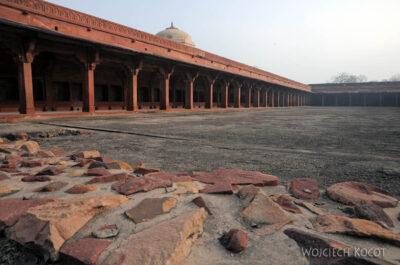 IN03142-Fatehpur Sikri - budowle postronie NW