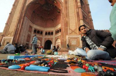 IN03154-Fatehpur Sikri - Meczet Juma Masjid odzewnątrz