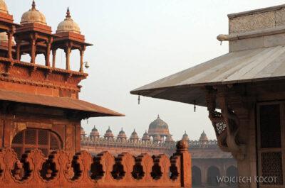 IN03196-Fatehpur Sikri - nadziedzińcu Meczetu Juma Masjid