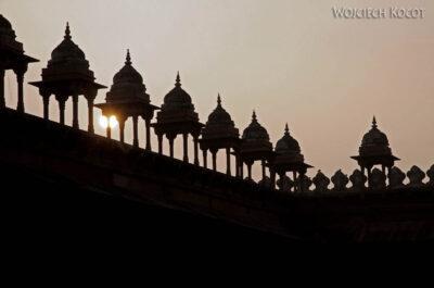 IN03202-Fatehpur Sikri - nadziedzińcu Meczetu Juma Masjid