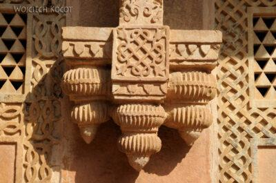 IN05029-Gwalior-Fort - detale nadziedzińcu