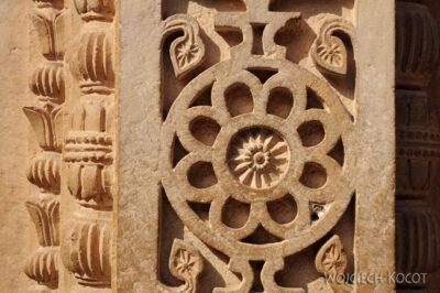 IN05030-Gwalior-Fort - detale nadziedzińcu