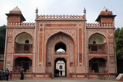 IN04120-Agra-Mały Taj Mahal - budynek zewnętrzny