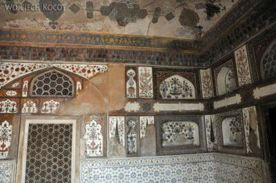 IN04145-Agra-Mały Taj Mahal - wnetrze