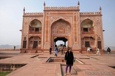 IN04152-Agra-Mały Taj Mahal - budynek przy Rzece