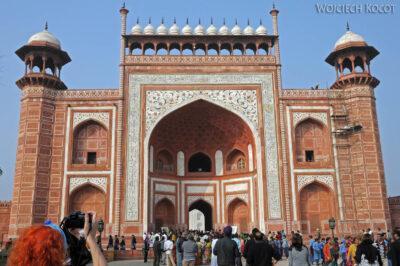 IN04206-Agra-Taj Mahal - Darwaza (budynek wschodni)