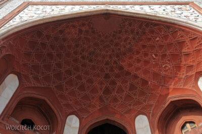 IN04211-Agra-Taj Mahal - Darwaza (budynek wschodni)