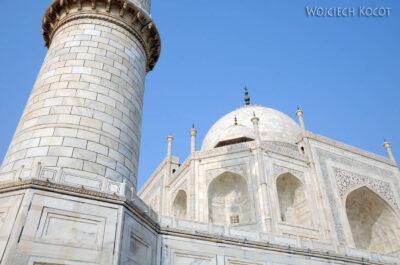 IN04223-Agra-Taj Mahal - minaret