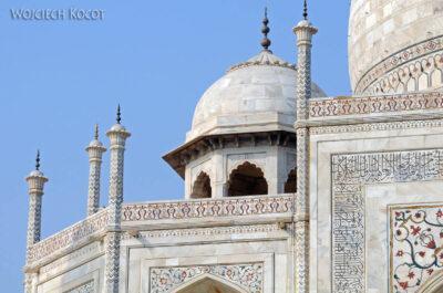 IN04228-Agra-Taj Mahal - szczegóły