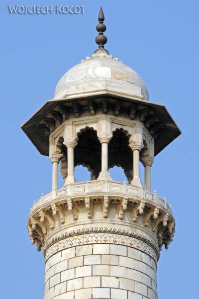 IN04236-Agra-Taj Mahal - minaret