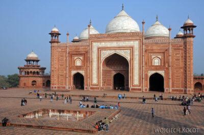 IN04269-Agra-Taj Mahal - budynek wschodni (Jawab)