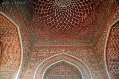IN04279-Agra-Taj Mahal - budynek wschodni (Jawab) - wnętrze