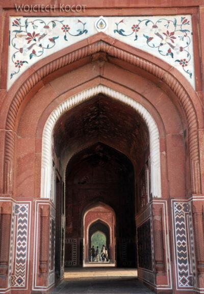 IN04282-Agra-Taj Mahal - budynek wschodni (Jawab) - wnętrze