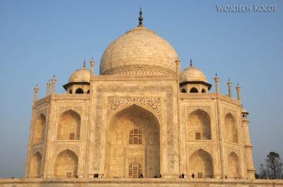IN04309-Agra-Taj Mahal - fasada zachodnia