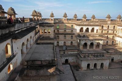 IN05137-Orcha-Raja Mahal (pałac stary) - dziedziniec