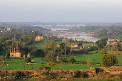IN05194-Orcha-Jehangir Mahal (pałac nowy) - widok wstronę północną