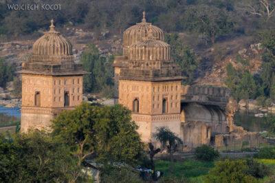 IN05196-Orcha-Jehangir Mahal (pałac nowy) - widok wstronę północną