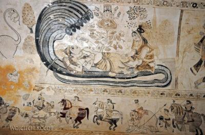 IN06069-Orcha-Malowidła wŚwiątyni Lakshmi