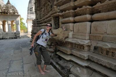 IN07216-Khajuraho-Kinga przy Parshwanath Temple