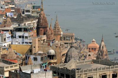 IN08023-Waranasi-widok ztarasu wstronę północną