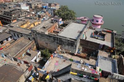IN08030-Waranasi-widok ztarasu wstronę północną