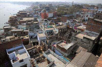 IN08031-Waranasi-widok ztarasu wstronę południową
