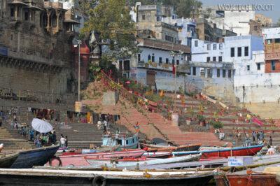 IN08059-Waranasi-widok nanabrzeże Gangi