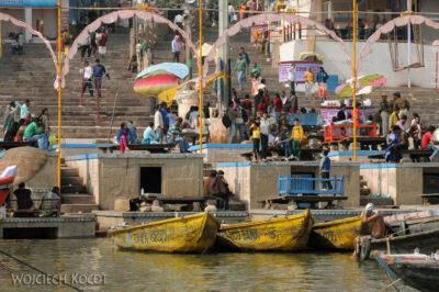 IN08060-Waranasi-widok nanabrzeże Gangi