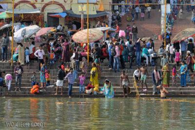 IN08066-Waranasi-widok nanabrzeże Gangi