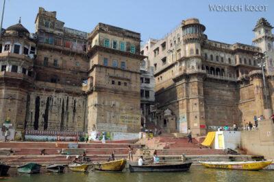 IN08072-Waranasi-widok nanabrzeże Gangi