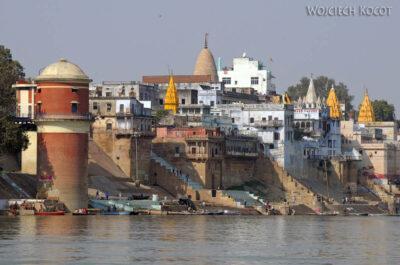 IN08094-Waranasi-widok nanabrzeże Gangi