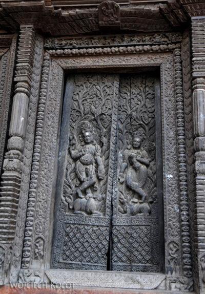IN10013-Waranasi-Świątynia Nepalska - detale
