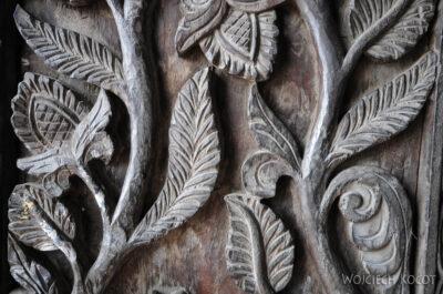 IN10014-Waranasi-Świątynia Nepalska - detale