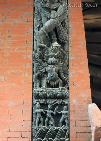 IN10017-Waranasi-Świątynia Nepalska - detale