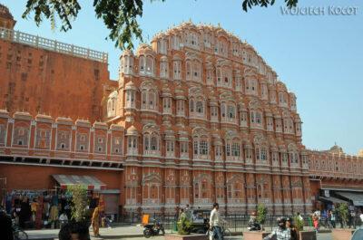 IN23020-Jaipur-Hawa Mahal - pałac iharem