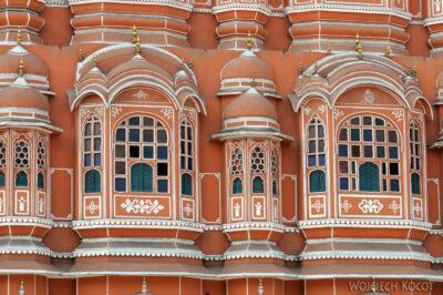 IN23025-Jaipur-Hawa Mahal - pałac iharem