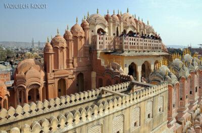 IN23043-Jaipur-Hawa Mahal - pałac iharem