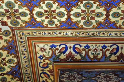 IN23140-Jaipur-pawie wPałacu Maharadży