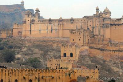 IN24011-Jaipur-Amber Palace odzewnątrz