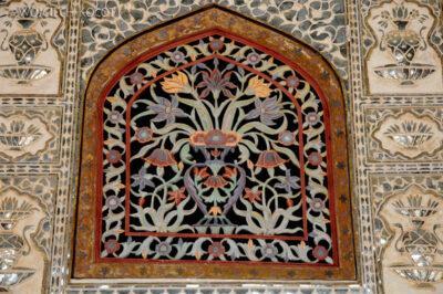 IN24048-Jaipur-Amber Palace - sala lustrzana