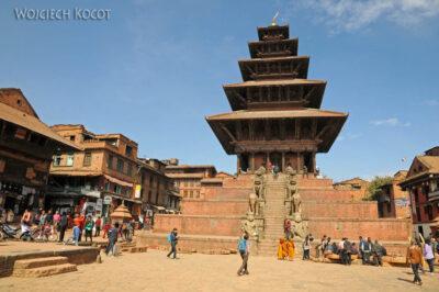 IN14119-Kathmandu-Bhaktapur-pagoda naplacu Tachupal