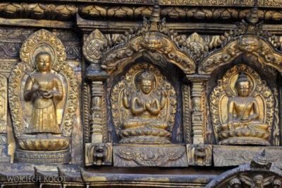IN14253-Kathmandu-Patan-złota świątynia buddyjska