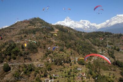 Pokhara-widok naGóry